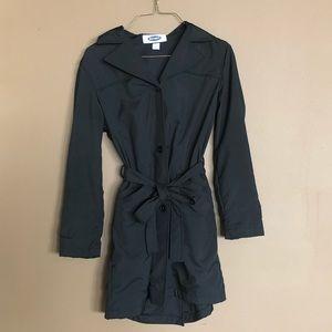 Old Navy Black Blazer with Waist Tie Belt SZ L